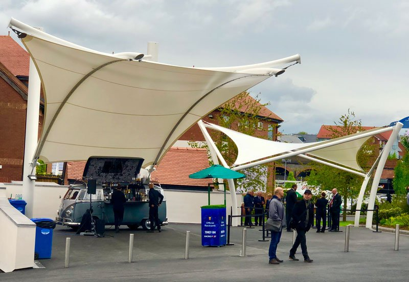 Two New Entrance Canopies Designed Engineered Fabricated